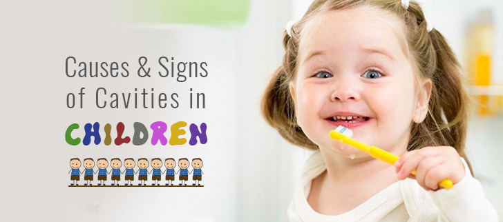 Causes and Signs of Cavities in Children
